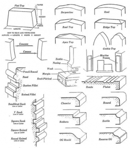 Headstone Mouldings